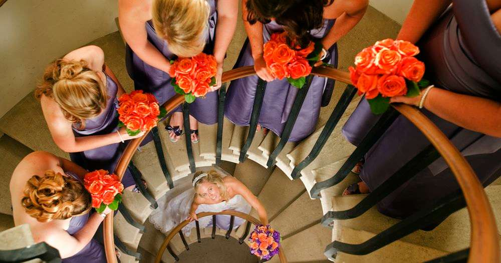 Columbia Missouri Wedding Photographer: Wedding Photography Spiral Staircase