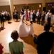 columbia missouri wedding photographer: reception dance bride and flower girl